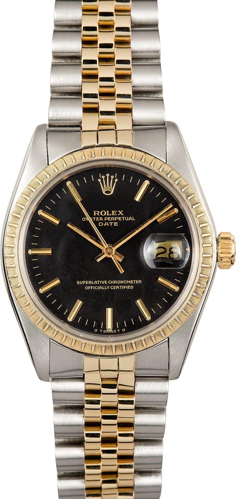 Rolex Date 1500 Two Tone