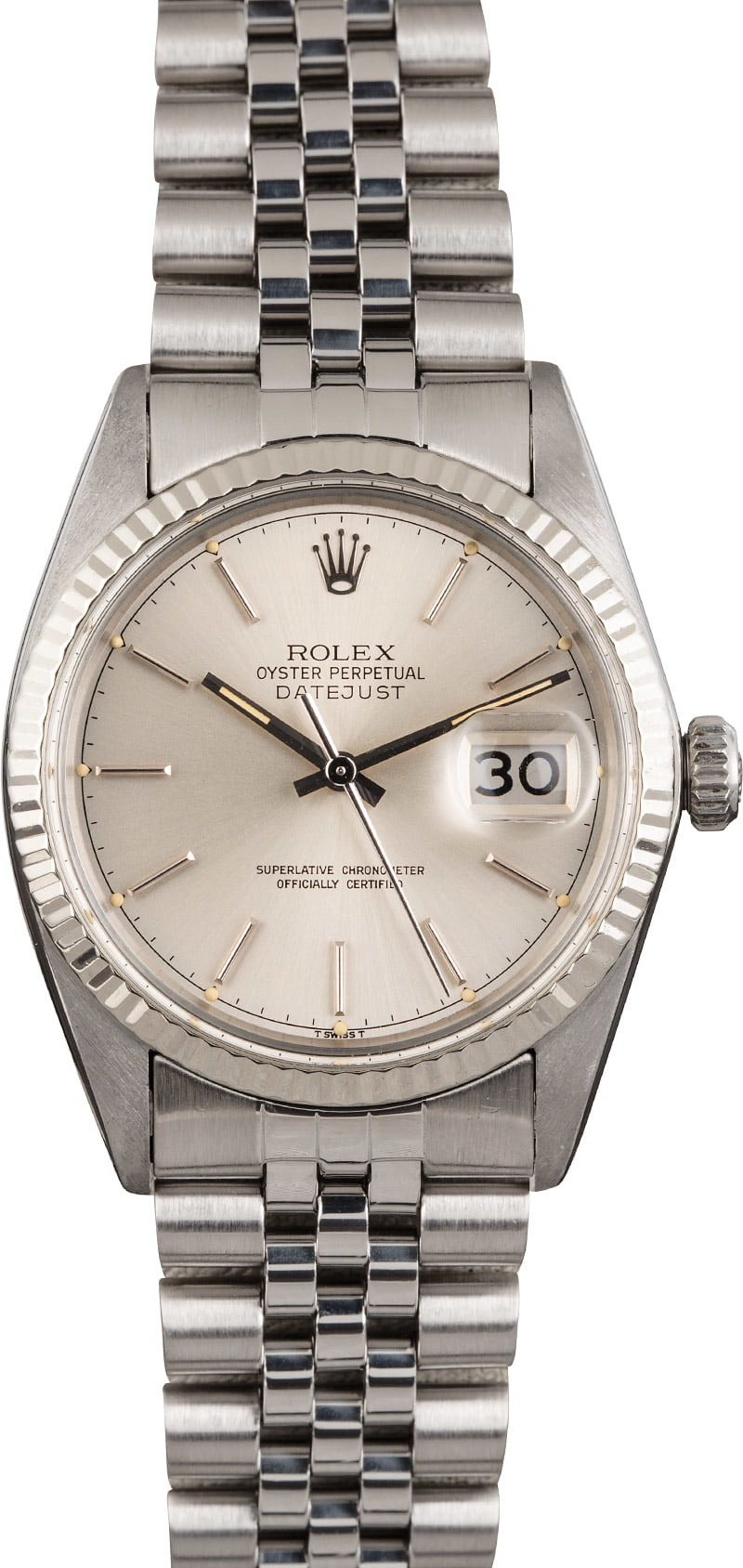 Buy Used Rolex Datejust 16014 | Bob's Watches - Sku: 125338 x