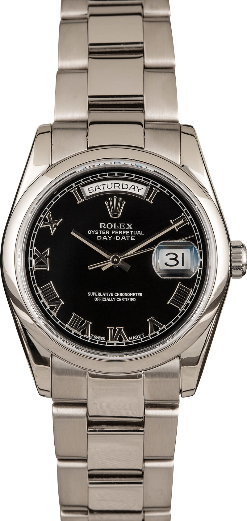 Buy Used Rolex Day-Date 118209 | Bob's Watches - Sku: 128113