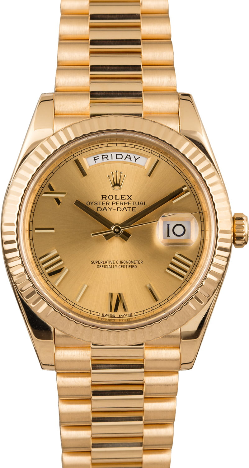 Buy Used Rolex President 228238CRSP | Bob's Watches - Sku: 124864