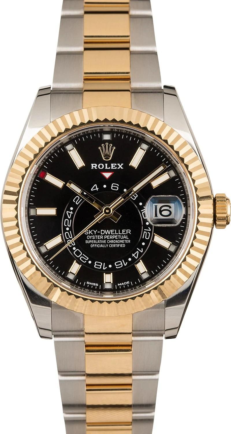 Buy Used Rolex Sky-Dweller 326933 | Bob's Watches - Sku: 123937 xx