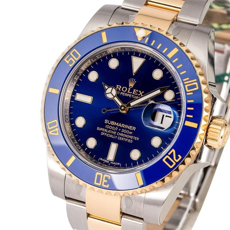 Rolex Ceramic Submariner 116613 Blue Dial