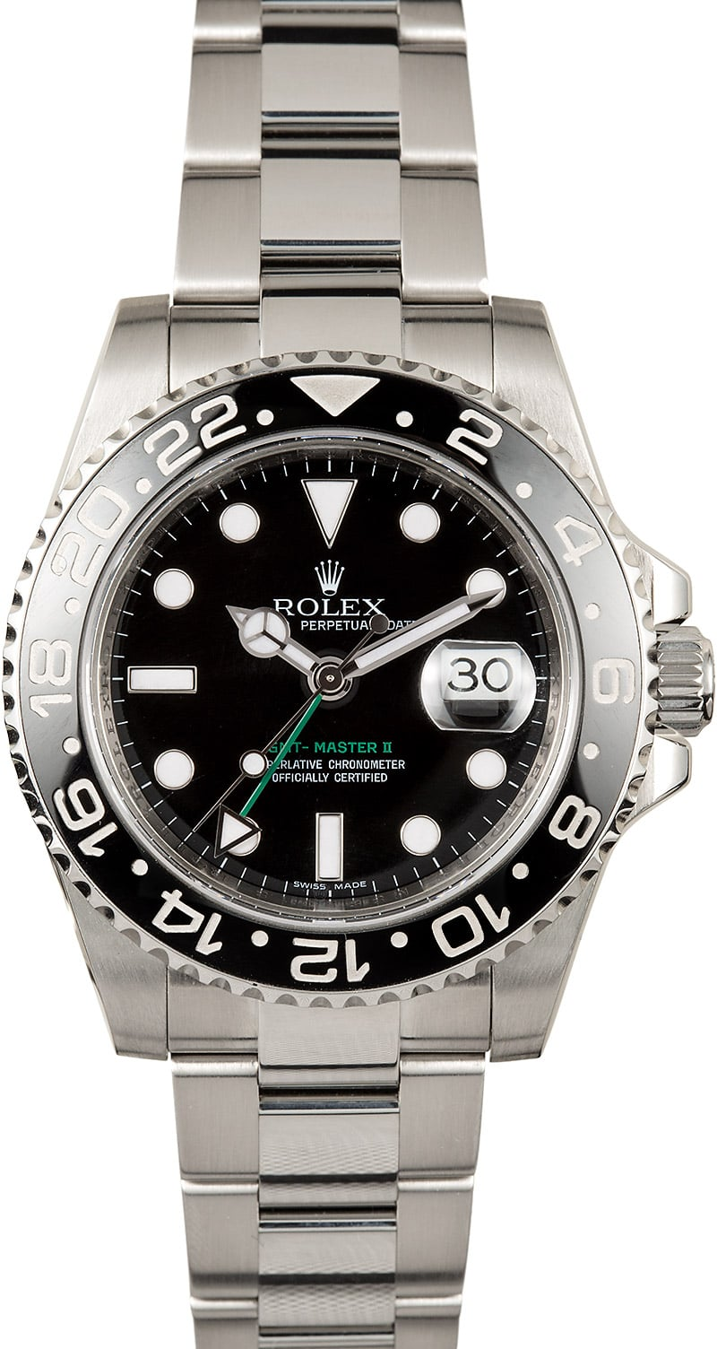Used Mens Rolex GMT Master II 116710 Master II Ceramic