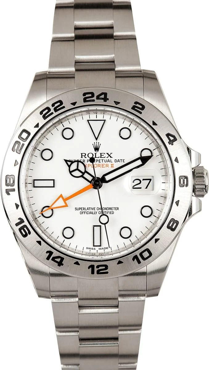 Rolex Explorer II 216570 At Bobs Watches 100 Authentic