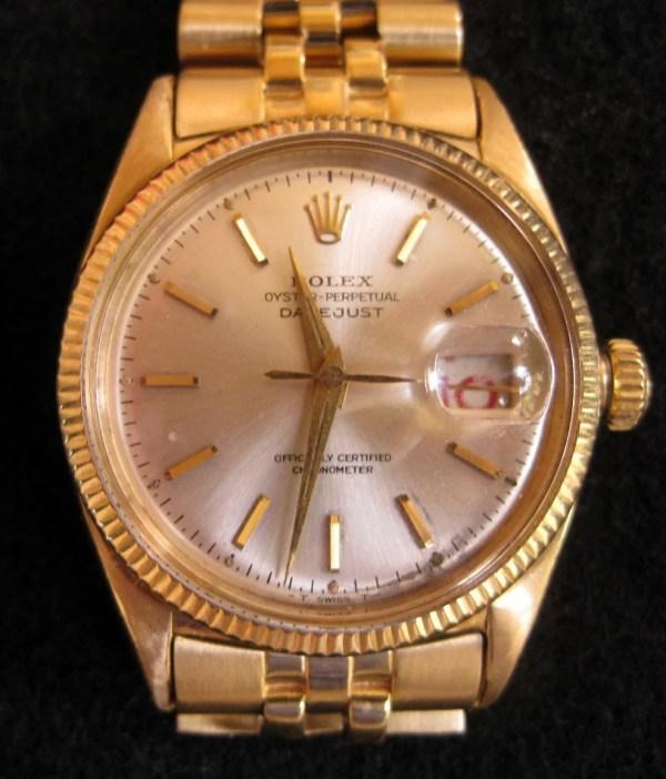 President Eisenhower 18k Gold Rolex Auction