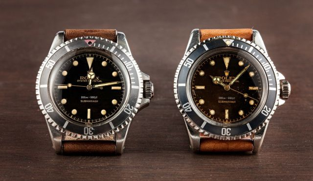 Rolex Submariner No-Date reference 5512 5513