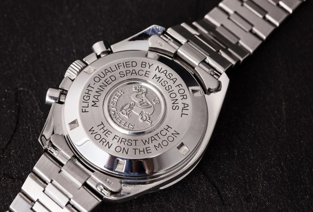Omega Speedmaster Professional Moonwatch Case-back