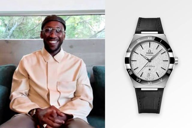 Mahershala Ali Omega Watches Constellation