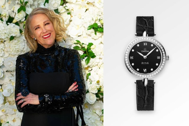 Catherine O'Hara Omega Watches De Ville Dewdrop