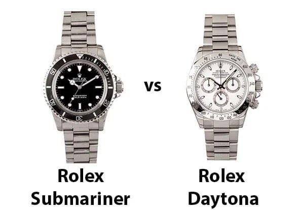 Rolex Submariner VS Rolex Daytona