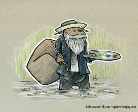 Impressionist Claude Monet