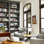 Rooms That Prove Black Built In Bookcases Are The Next Big Thing