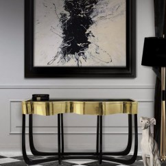 Sofa Tables For Living Room Cheap Lounge Chairs The Best Contemporary Console Your Table Sinuous