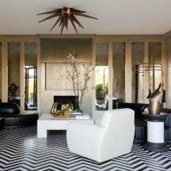 Modern Contemporary Living Room Pictures Black And Beige Curtains 15 Refined Ideas Kelly Wearstler Bel