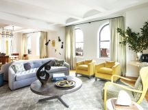 Revamped Art-Filled Modern Apartment in NY Historic Building Modern Apartment Revamped Art-Filled Modern Apartment in NY Historic Building new york apartment 2