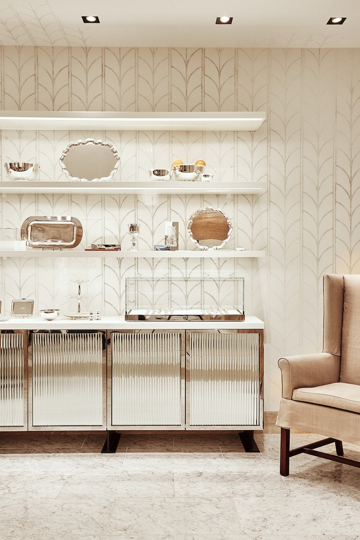 Tiffany Amp Co New Space Creates A Modern Luxury Experience