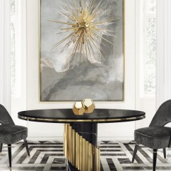 Dining Table In Living Room Pictures Best Paint Colors India 10 Round Tables To Create A Cozy And Modern Decor