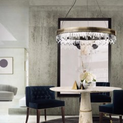 Living Room Round Table Marble Floor Designs For 10 Dining Tables To Create A Cozy And Modern Decor