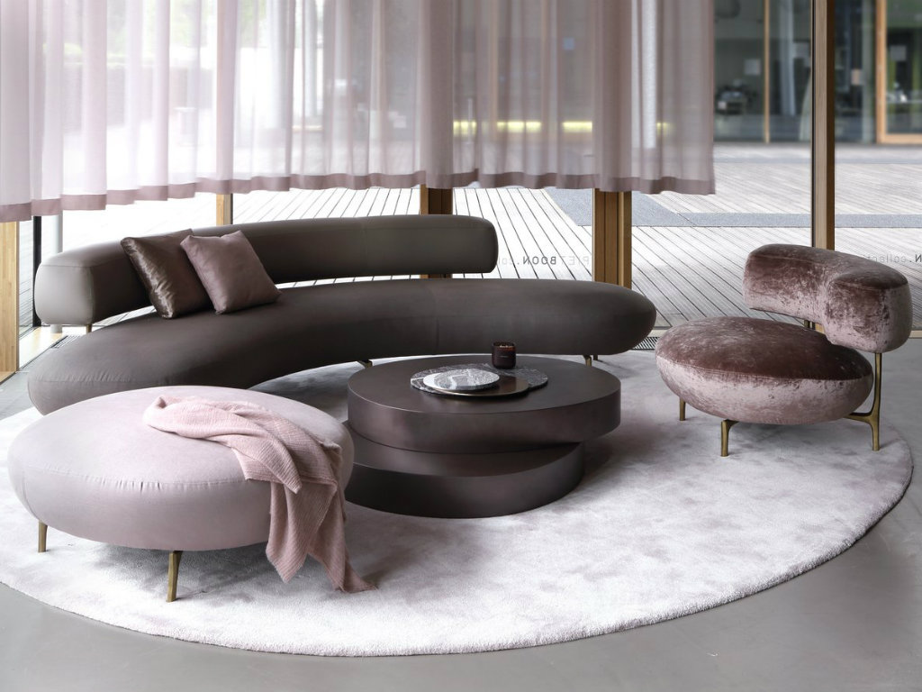 sofas living room rustic decorating ideas seductive curved for a modern design