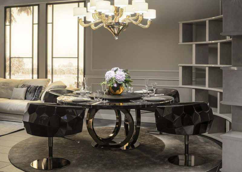 contemporary marble dining tables for