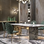 Precious Marble Dining Tables For Your Exclusive Home Design