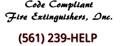 Fire Extinguisher Certifications Boca Raton and Pompano