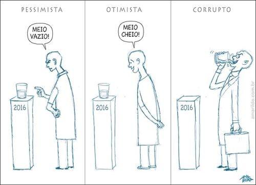 Charge do dia - por Amarildo