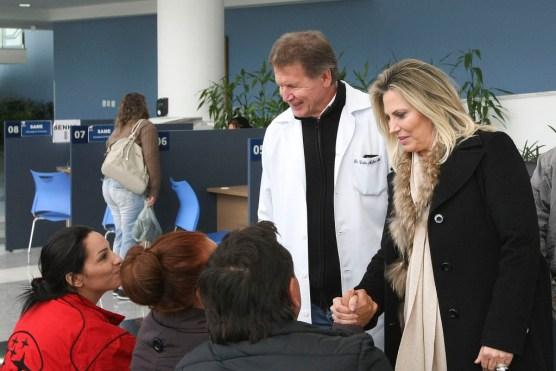 Cida Borghetti visita instalações do novo ambulatório do Hospital do Rocio