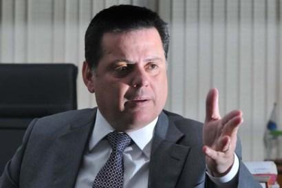 27/04/2011. Crédito: Marcelo Ferreira/CB/D.A Press. Brasil. Brasília - DF. Visita do governador de Goiás Marconi Perilo, no Correio Braziliense.