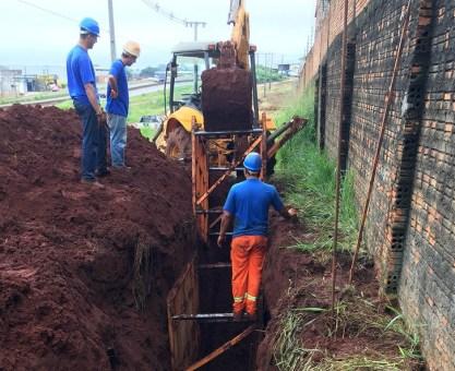Cascavel terá mais 32 quilômetros de redes de esgoto
