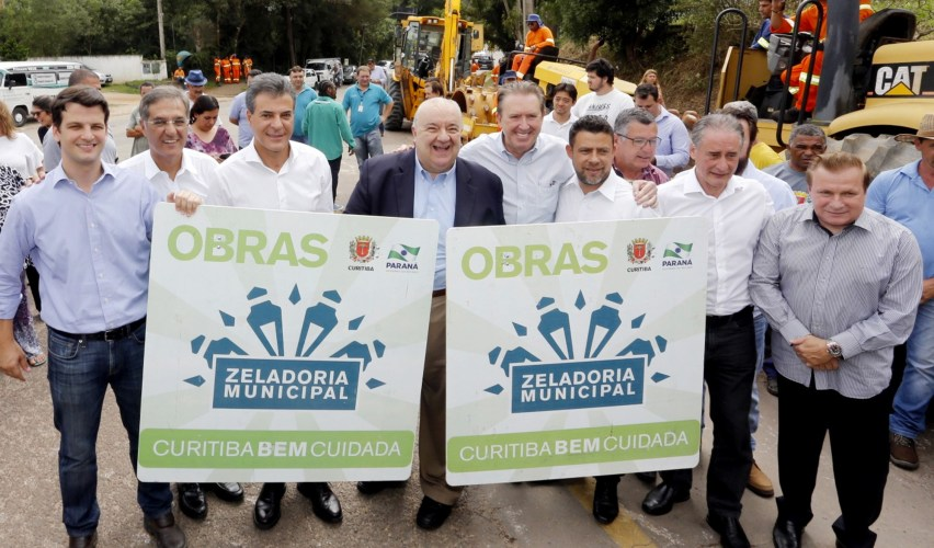 Curitiba vai asfaltar 240 ruas