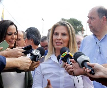 Cida repassa R$ 30 milhões para obras em Araucária