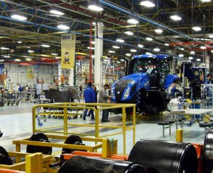 Produção industrial do Paraná cresce e fica acima do Brasil