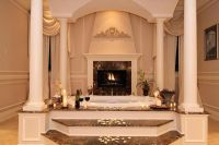 Luxury Bathrooms With Fireplaces