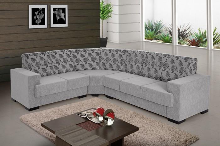 Sofa de canto 6 lugares retratil e reclinavel www for Sofa 6 lugares de canto