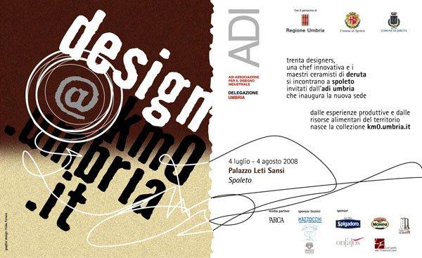 Nicola Boccini, ADI Umbria, food ceramic exhibition