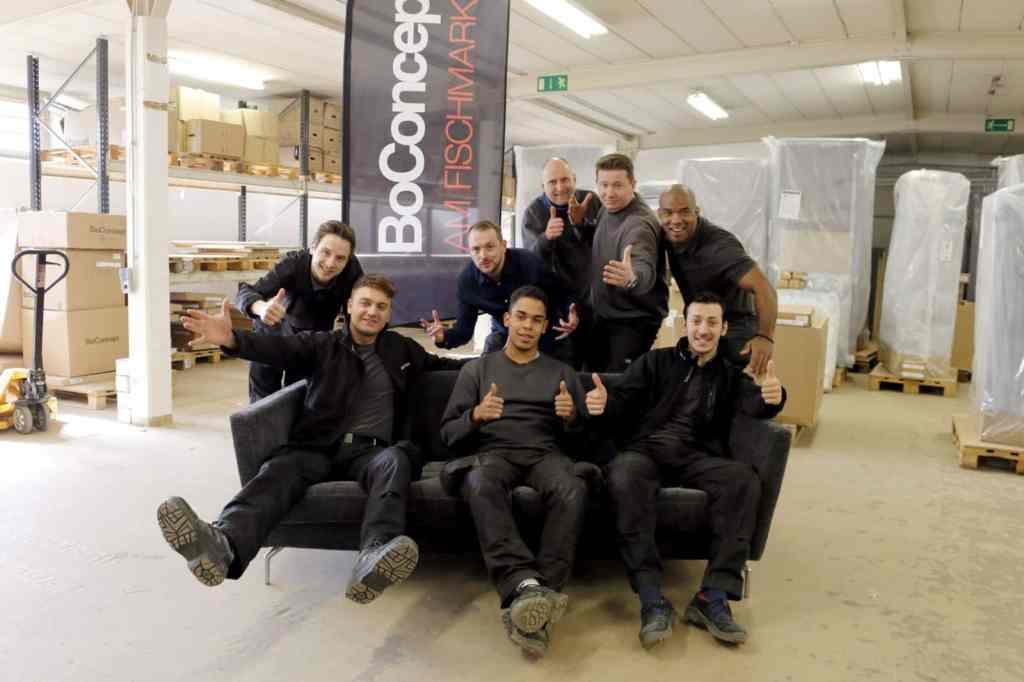 BoConcept Experience stellt das Service Team vor