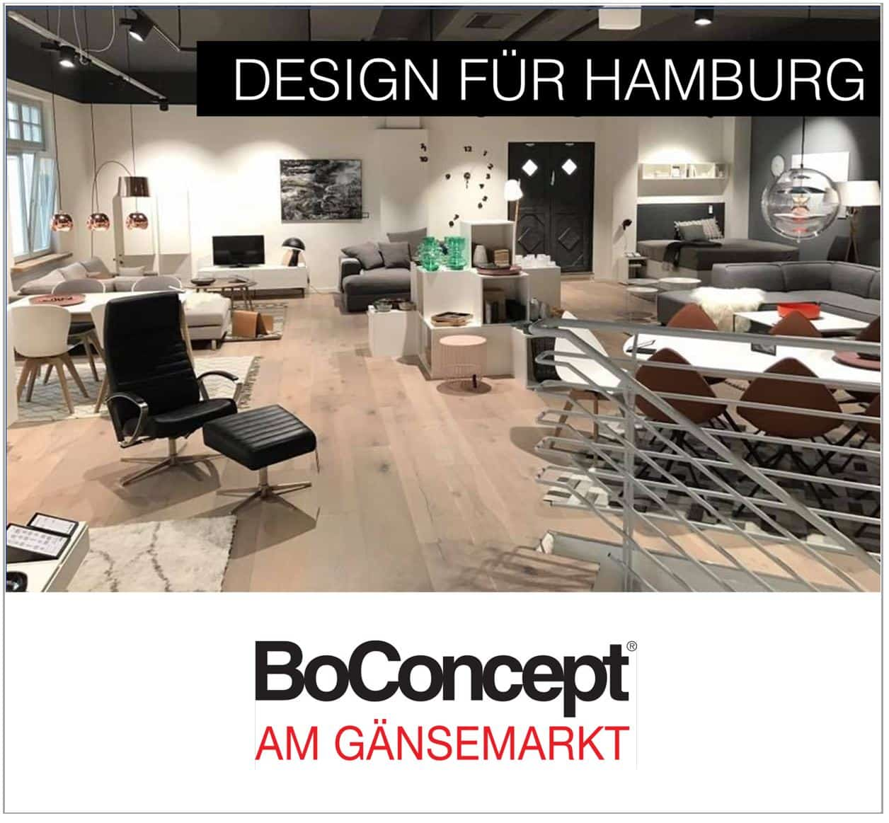 stores hamburg boconcept experience hamburg am fischmarkt. Black Bedroom Furniture Sets. Home Design Ideas