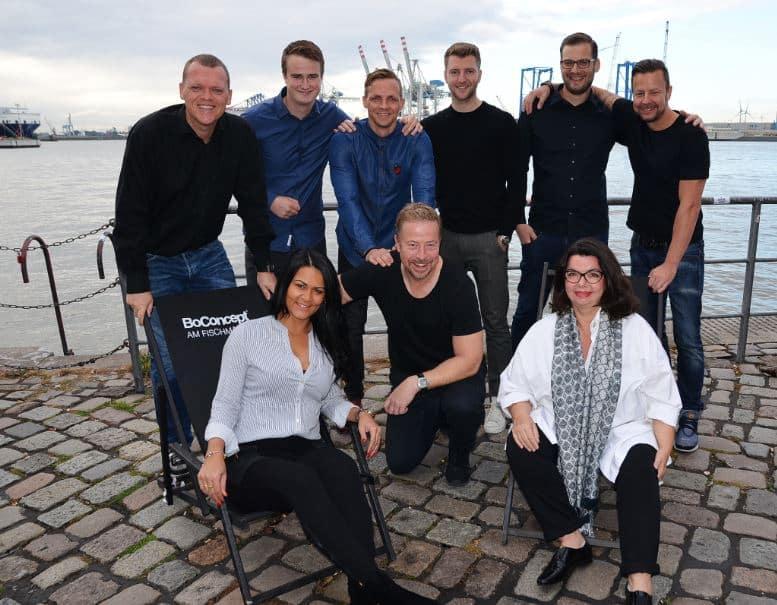 Boconcept Hamburg berater team boconcept experience hamburg am fischmarkt