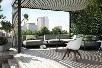 boconcept experience rome outdoor lounge 5 - Outdoor-Möbel von BoConcept