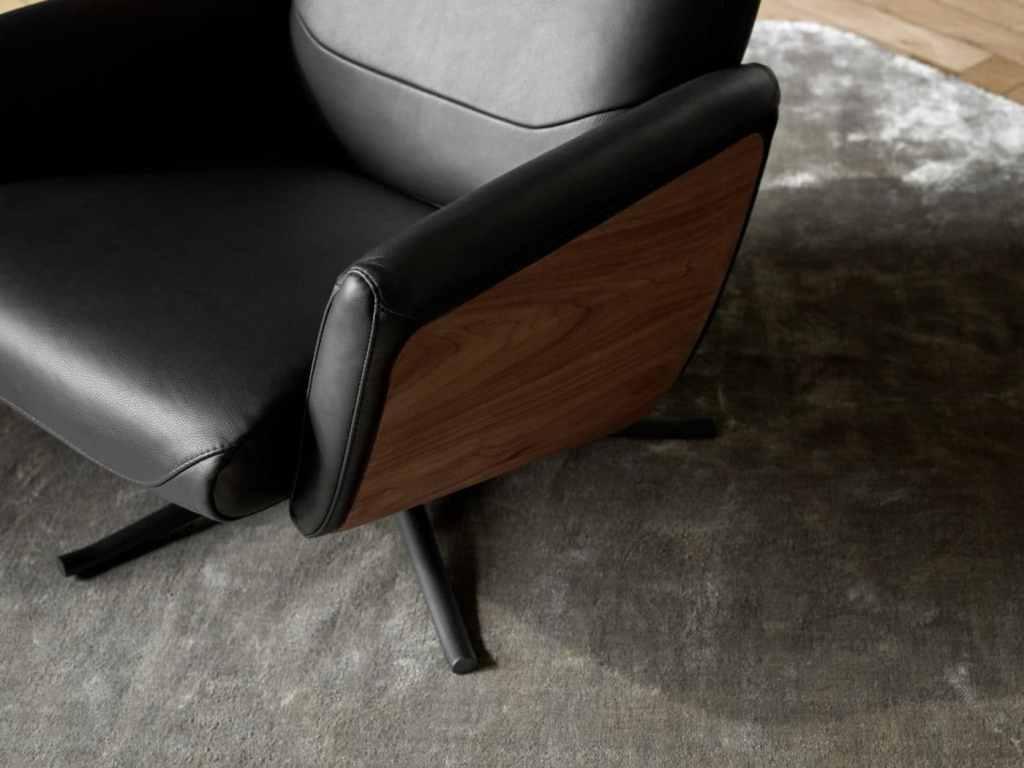 boconcept experience sessel trento Holz 1024x768 - Entspannt zurücklehnen auf LUCCA & TRENTO