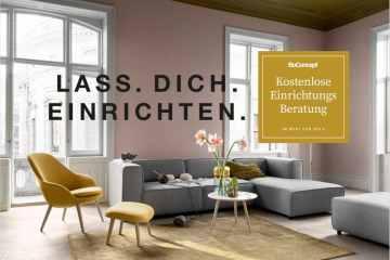 boconcept experience kostenlose Einrichtungsberatung B - KOSTENLOSE Einrichtungsberatung - im Wert von 300€