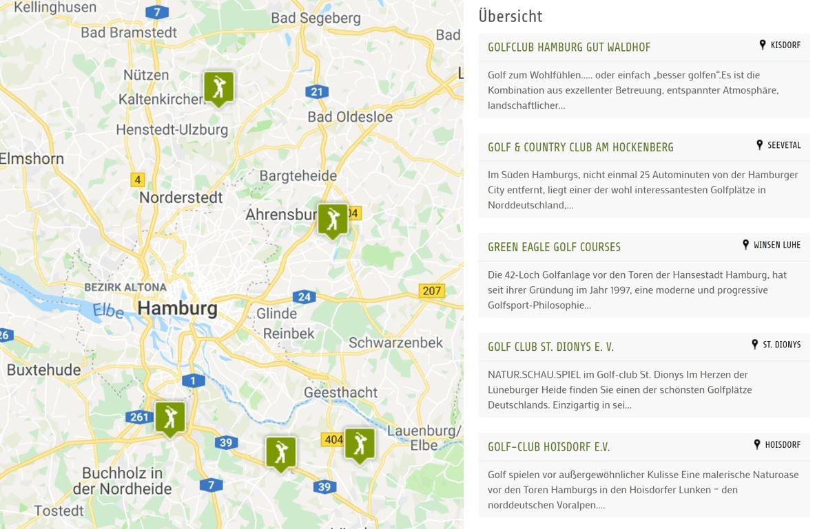 boconcept experience hamburger woche Karte - Hamburger Golfwoche, 27.-31. Mai 2019