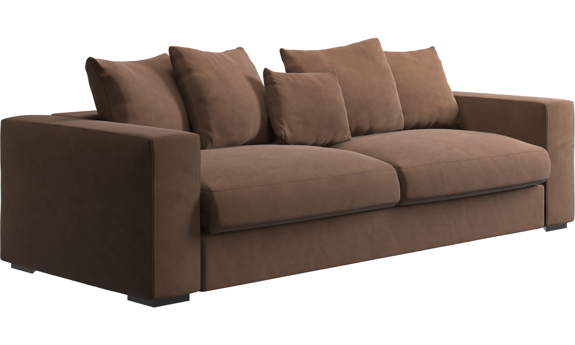 boconcept sofa ebay 2 seater below 10000 brown fabric sofas nia chaise lounge steal a
