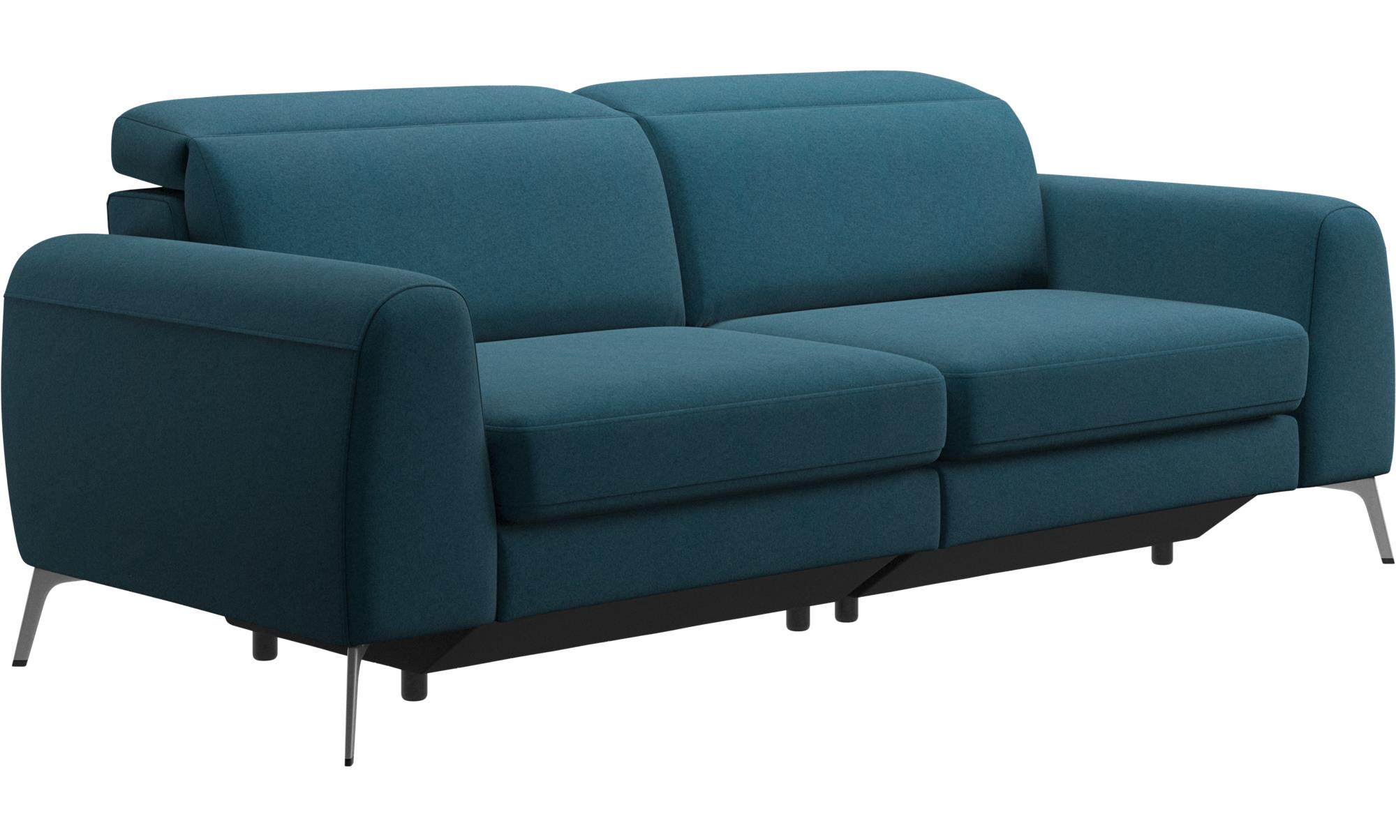 sofa headrest cheap beds in phoenix 3 seater sofas madison with adjustable