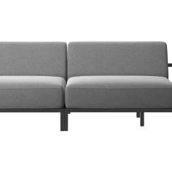 Black Aluminum Outdoor Sofa Sure Fit Loose Covers Uk Out Door Lounging Relaxing Furniture Ikea Thesofa