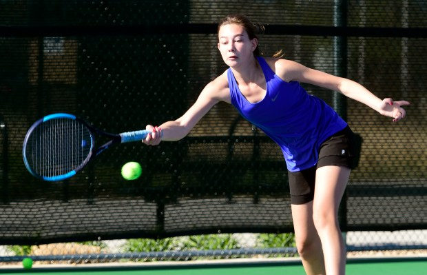Rebecca Pavot, Longmont High, playing in ...