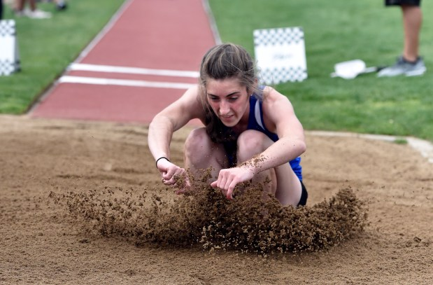 Longmont High School's Tara Hitchcock jumps ...