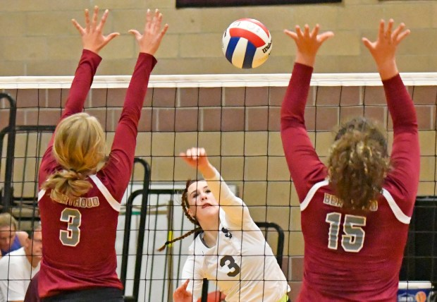 Haley Lee, center, of Silver Creek ...