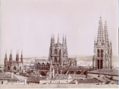 la catedral vista desde el castillo